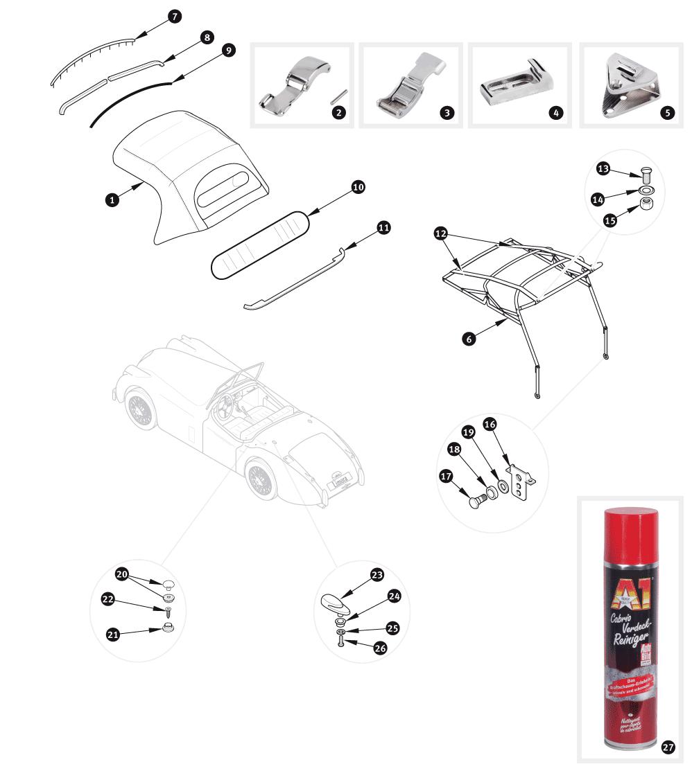 land rover defender parts catalog