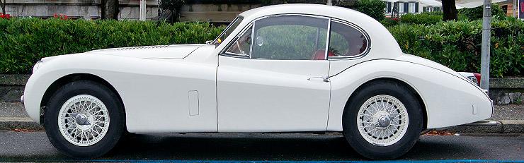 Jaguar XK120, XK140 and XK150 (1949-1961)