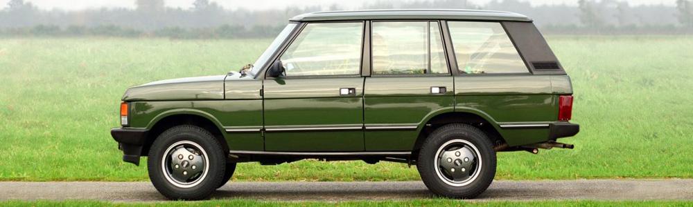 Range Rover Classic 1970 1996 Land Rover British