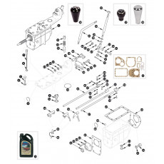 Gearbox, overdrive specification - outer