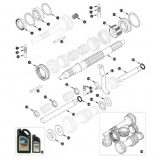 Gearbox, overdrive specification - inner