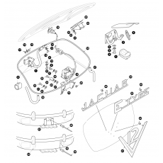 Chassis and boot lid fittings OTS