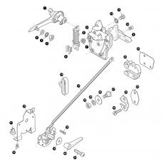 Door locks and handles