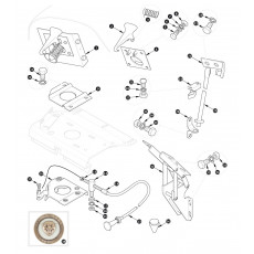 Bonnet fittings - XK120