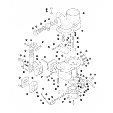 Solex SX 40carburettor - 2.2.5 petrol engine, Serie II and IIA