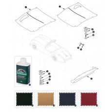 Tonneau and hood cover - XK150 OTS