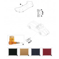 Hood cover - XK140 DHC