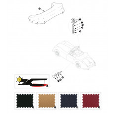 Hood cover - XK150 DHC