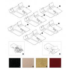 Carpet sets - XK150 from August 1958 bis November 1958