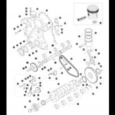 Crankshaft - 2.25 litre 4 cylinder petrol engine