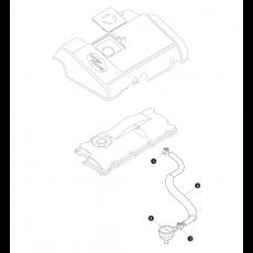 Engine breather system - 5 cylinder Diesel Td5