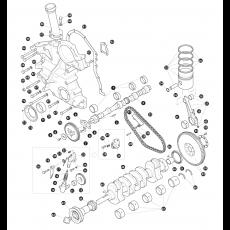 Crankshaft - 2.25 litre 4 cylinder diesel engine