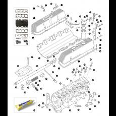 Cylinder head - 8 cylinder engine