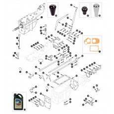 Gearbox, non overdrive specification - outer