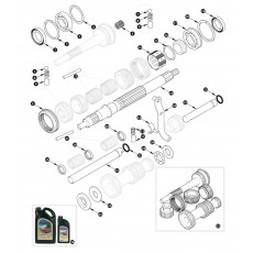 Gearbox, non overdrive specification - inner
