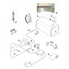 Fuel pump and fuel tank - XK140