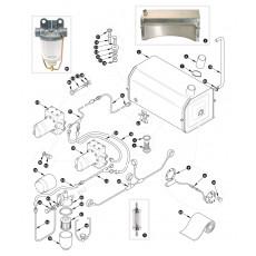 Fuel pump and fuel tank - XK150S