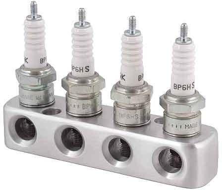 Spark plug bracket