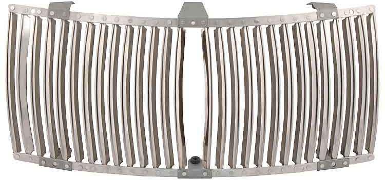 Radiator grille panel