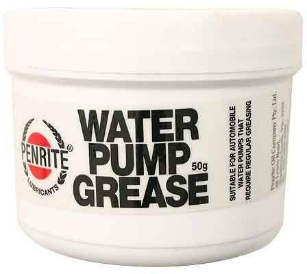 Water pump grease