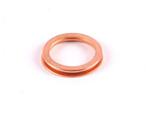 Copper crush washer