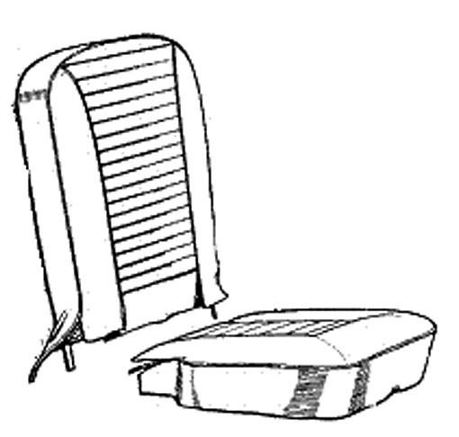 Sprite / Midget Vinyl seat cover