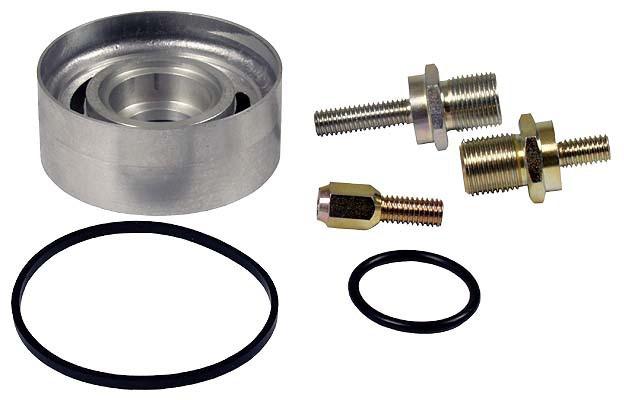 Oil filter adaptor
