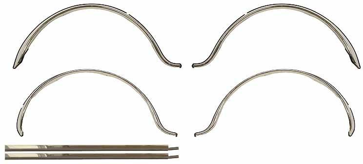 Mini Wheel arch set