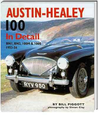 Austin Healey 100 in detail