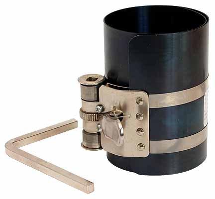 Compressor for piston rings