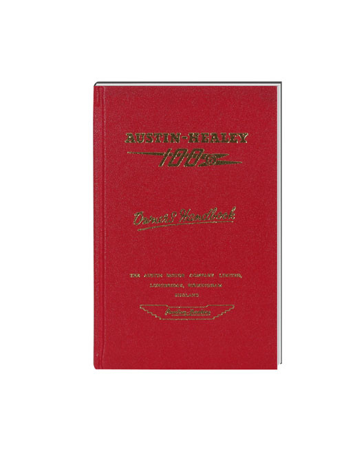 Austin Healey Drivers handbook