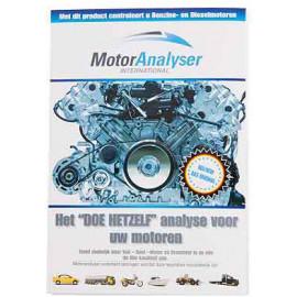 Engine oil analyser