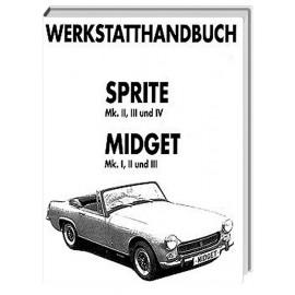 Werkstatthandbuch MIDGET und SPRITE