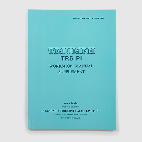 Workshop manuals and drivers handbooks