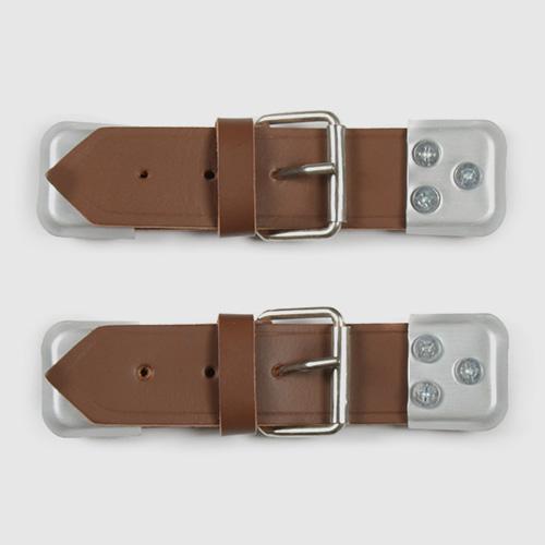 Bonnet pins, leather straps and valve caps