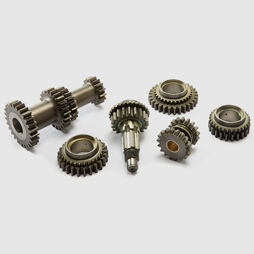 Gearbox: gear kits and gear change