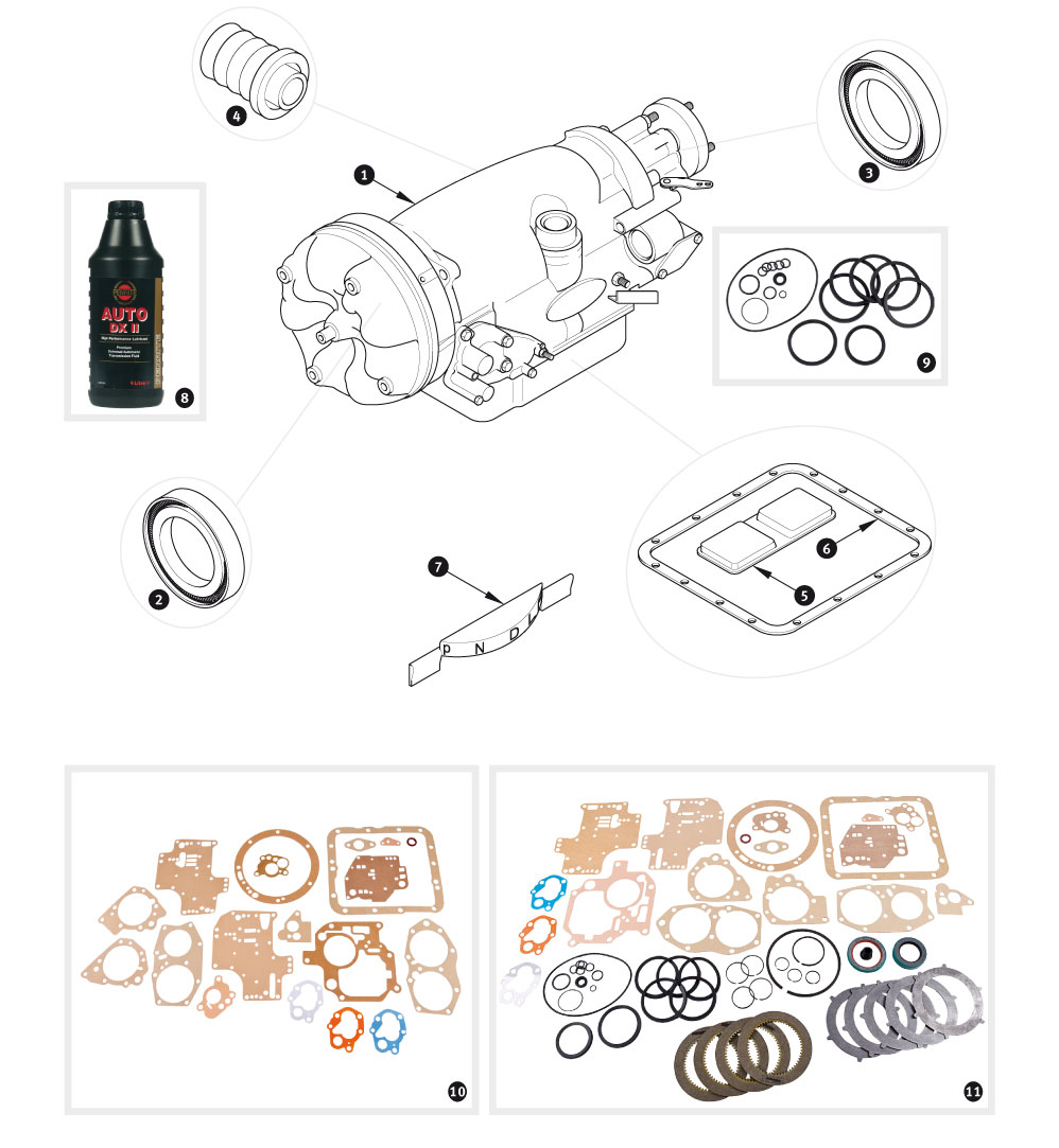 Borg Warner Transmission Parts >> Borg Warner Automatic Transmission Model Dg250 Sc Parts