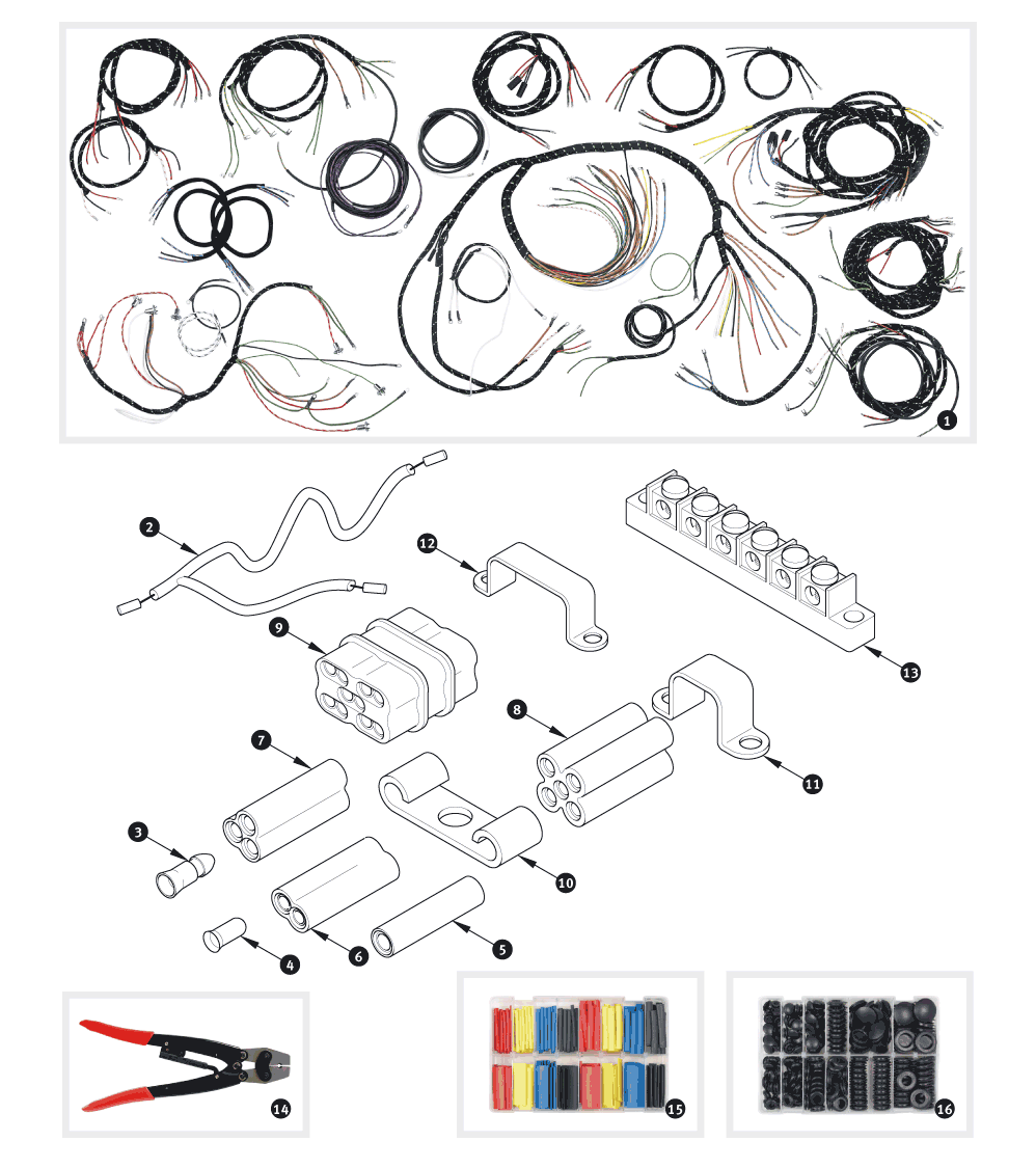 jaguar xk150 wiring loom wiring diagram mega wiring loom sc parts group jaguar xk150 wiring loom