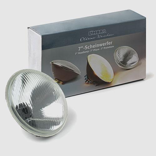 Headlamps, bulbs and hazard kits