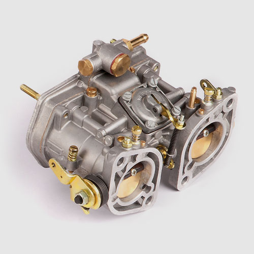 Carburettor and fuel injection