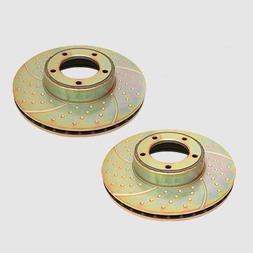 Brake pads and discs - Series I, Series II to November 1973