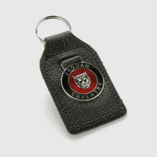 Key fobs, lapel badges, parking signs, gear lever knobs and models cars