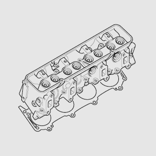 Cylinder head - 8 cylinder cars