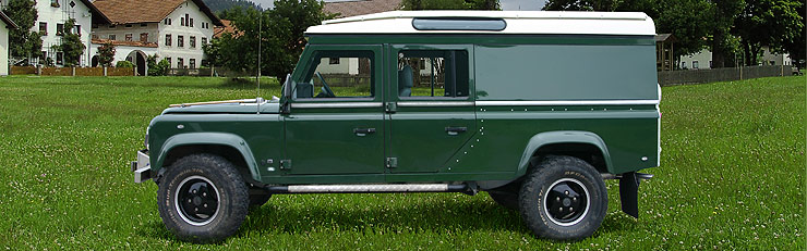Land Rover 90, 110 and Defender (1983-2006)