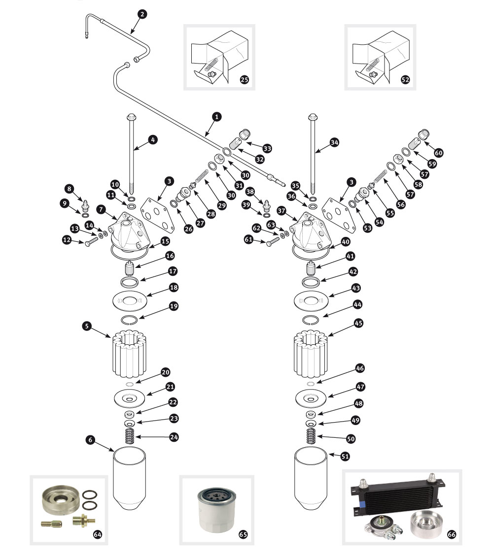 parts for jaguar xk120, xk140 and xk150 • oil filter - xk120 and, Wiring diagram