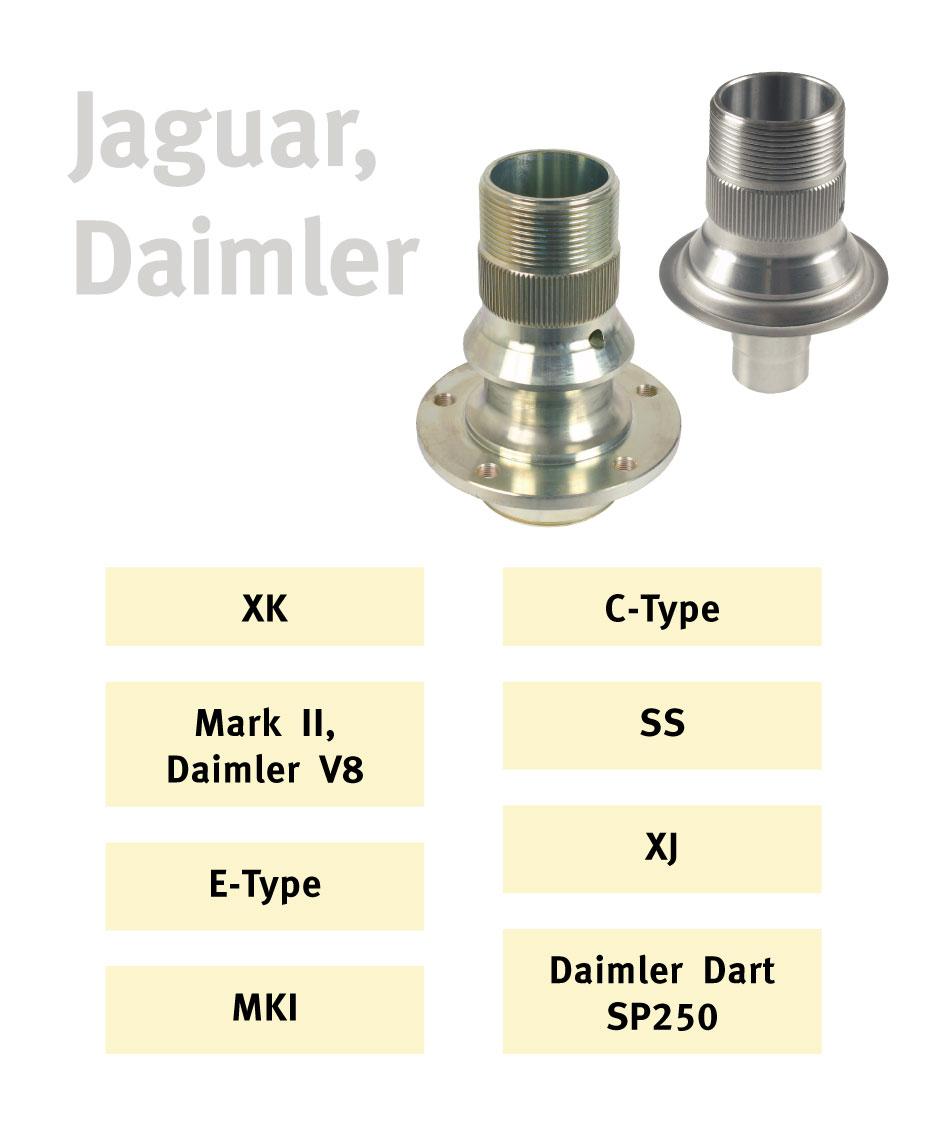 DAIMLER V8  REAR HUB TO DISC NUTS /& WASHERS JAGUAR MK2