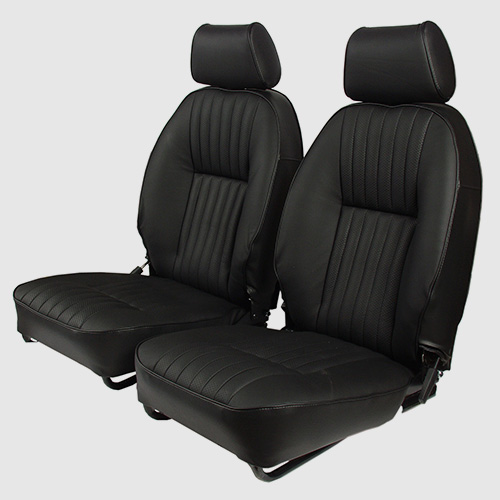 Leather and sports seats