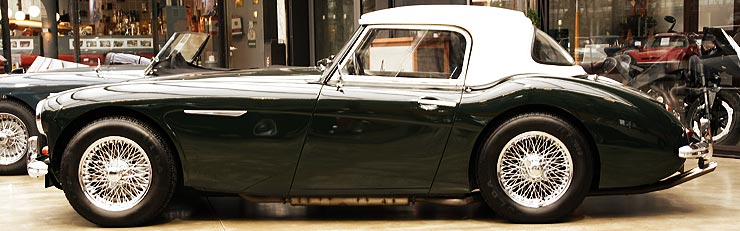 Austin Healey BN1 to BJ8 (1953-1968)