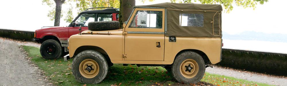 Land Rover Series II, IIA and III (1958-1985)