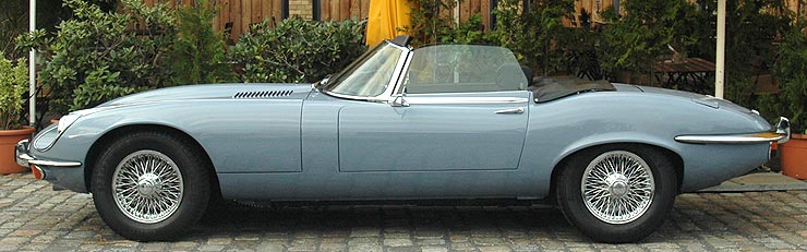 Jaguar E-Type V12 Series 3 (1971-1974)
